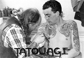 Jacky Tatouage jacky tatouage, carte postale 00608