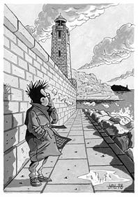 carte postale de Jean-Louis Aguila